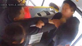 陝西,公車,駕駛,毆打 圖/翻攝自華商網