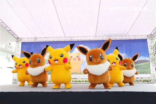 寶可夢,古空棘魚,台南市觀旅局,Pokémon,抓寶