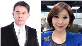 劉寶傑、東森新聞女主播陳瑩/臉書