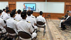 劍指中國?印度核潛艇完成首次巡航 總理大讚:印度的驕傲(圖/翻攝自Narendra Modi推特)