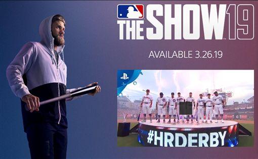 ▲哈波成為MLB THE SHOW 19代言人。(圖/翻攝自PlayStation官網)