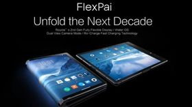 深圳柔宇科技 FlexPai 柔派手機 中國 三星 摺疊手機