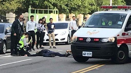 黎明幼兒園長 與林佳龍座車碰撞/翻攝自徐玉紅臉書