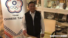 林鴻道秀出5月初IOC的來涵。(圖/記者劉忠杰攝影)