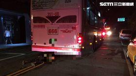 公車,行人,慘死,石碇,翻攝畫面