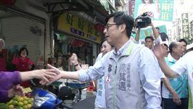陳其邁林園市場掃街,三立新聞