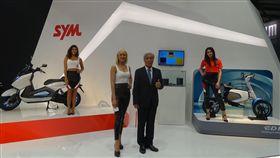 三陽米蘭機車展(圖/SYM提供)