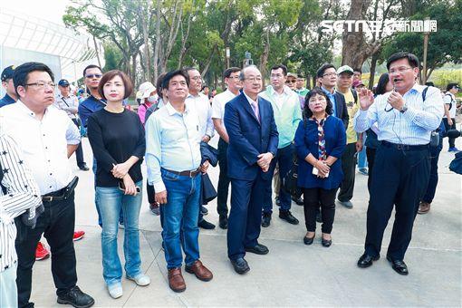 立院民進黨團參訪花博(圖/台中市政府提供)