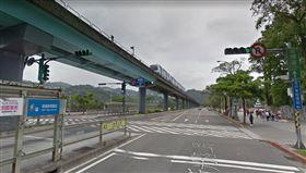 台北,罰單,違規,行人穿越道,動物園(圖/翻攝自Googlemap)