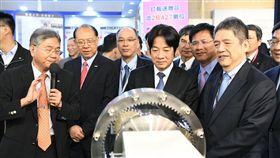 行政院長賴清德7日赴台中市出席「台灣國際工具機展」開幕活動。(圖/行政院提供)