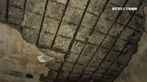 海砂老屋千人住!不僅樓梯崩塌 2樓陽台還垮到1樓