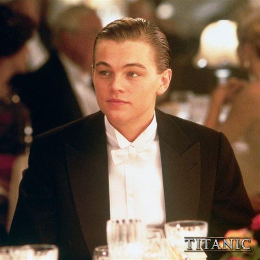 李奧納多(Leonardo DiCaprio)。(圖/翻攝自鐵達尼號臉書)