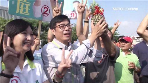 決戰高雄55波! 陳其邁支持度贏韓1%