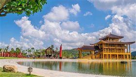 清邁Hinoki Land日本城(圖/翻攝自泰國網臉書)