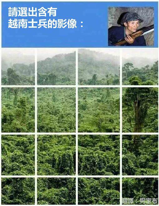 Google,照片驗證,越南士兵,PTT 圖/翻攝自PTT
