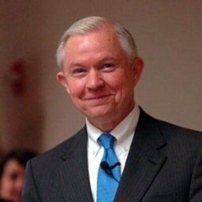 美司法部長塞申斯(圖/翻攝自Jeff Sessions推特)