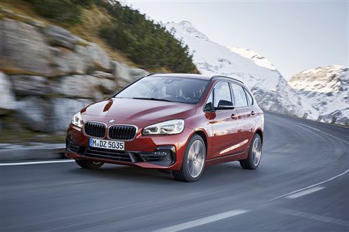 2019年式BMW 2系列Active Tourer。(圖/BMW提供)