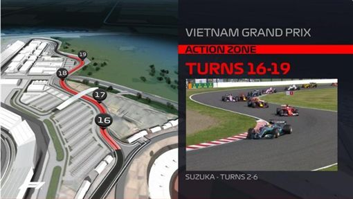 ▲河內站賽道設計借鏡多條F1經典賽道。(圖/翻攝自F1官網)