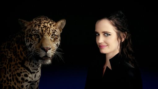 伊娃.葛林與Jaguar合作最新廣告短片。(圖/Jaguar提供)