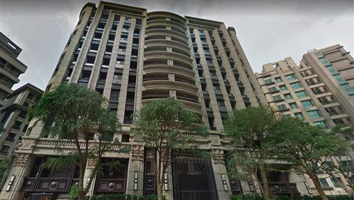 南港百坪豪宅打出零自備款。(圖/翻攝自GoogleMap)