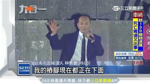 台南最新民調!高思博、林義豐搶第二