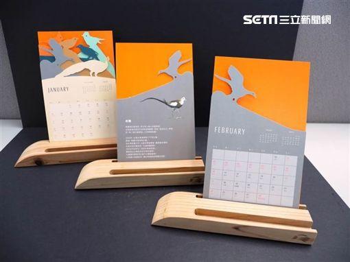 高鐵,桌曆,水雉,/高鐵提供