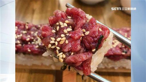 日本,50公分,生牛肉,壽司,網紅