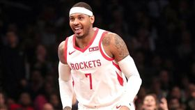 甜瓜回雷霆上演「打鐵秀」 火箭慘敗 NBA,休士頓火箭,Carmelo Anthony,甜瓜,奧克拉荷馬雷霆 翻攝自推特