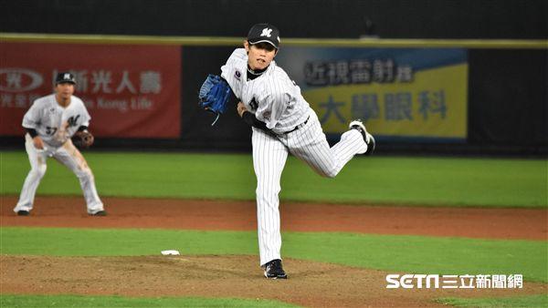 千葉羅德海洋台灣投手陳冠宇。(圖/記者王怡翔攝影)