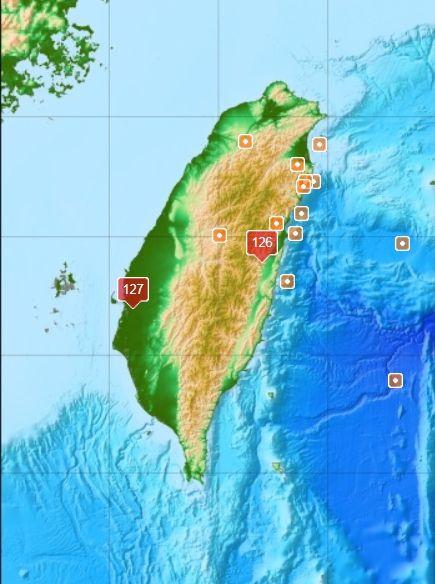 嘉義,地震,氣象局