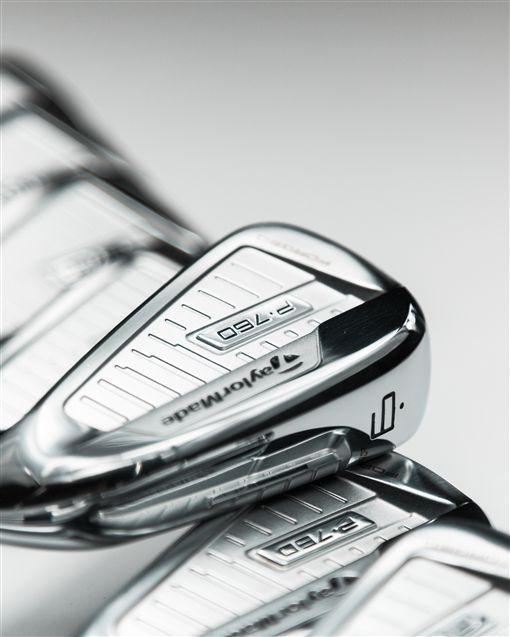 P760鐵桿搭載球友夢寐以求的出色性能。(圖/TaylorMade Golf Taiwan提供)