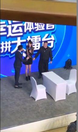 林志玲,粉絲,騷擾,吃豆腐/翻攝自微博