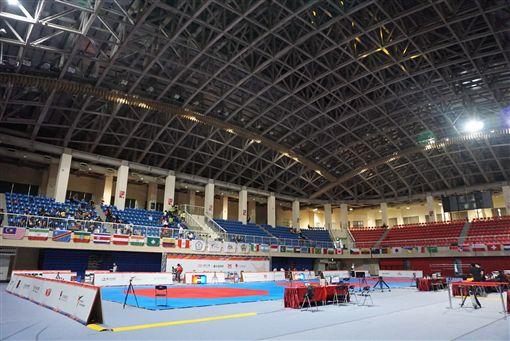 世界跆拳道主席盃公開賽將在台北市立大學天母校區體育館點燃戰火。(圖/中華跆協提供)