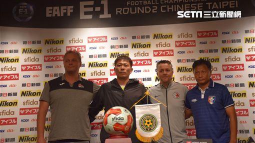▲東亞盃4隊總教練。(圖/記者林辰彥攝影)