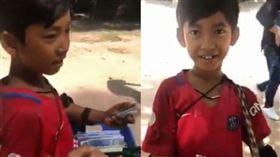 柬埔寨,遊客,紀念品,兜售,語言,中文,法與,廣東話,天才,唱歌 圖/翻攝自YouTube