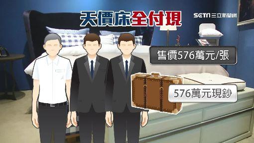 行李箱裝576萬保鑣護送 阿公豪氣買床墊