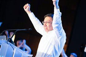 ▲台北市長柯文哲。(圖/柯文哲競選辦公室提供)