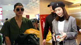 潤娥和珍雲兩人碰巧同機抵台
