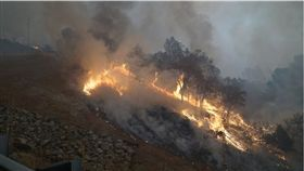 大規模野火肆虐美國加州洛杉磯附近地區,火勢迅速蔓延,延燒範圍到今(11)日已增加一倍,當局又發現14名罹難者,將死亡人數推升至至少23死。(圖/翻攝自Butte County, CA推特)
