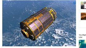 回收囊返地球 日首度從太空站帶回物質 (圖/翻攝自bobrtimes)