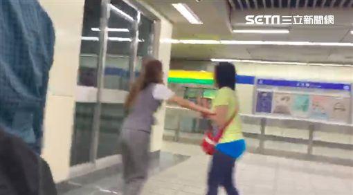 捷運,板南線,台北,善導寺站,自殘,