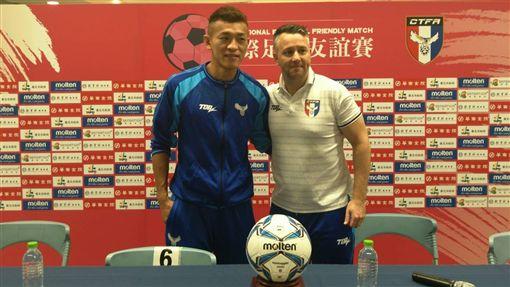 台灣隊長陳柏良(左)。(資料照/記者林辰彥攝影)