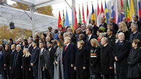 各國領袖齊聚巴黎 紀念一戰終戰協定簽署100年,第一次世界大戰(圖/美聯社/達志影像)