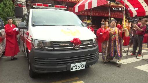 67週年宮慶做公益!南天宮捐贈救護車