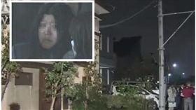 日本女友殺美軍軍人。(圖/翻攝富士電視台)