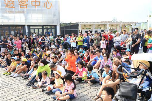 花博單日參觀人數突破12萬人(圖/台中市政府提供)