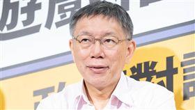 台北市長柯文哲,(圖/柯文哲競選辦公室提供)