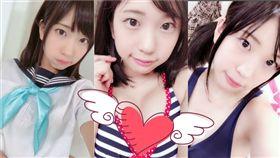 現年20歲的日本AV女優高杉麻里出道1周年發表引退宣言。(翻攝推特)
