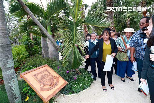 帛琉第一夫人參觀花博(圖/台中市政府提供)