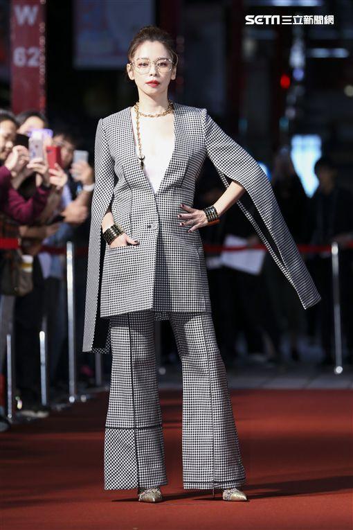 《人面魚》徐若瑄、鄭人碩以及導演莊絢維和監製曾瀚賢圖/記者林士傑攝影